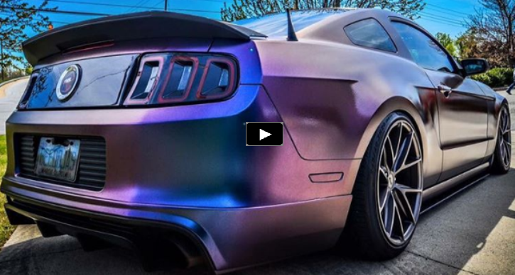 modified 2013 ford mustang nightmare