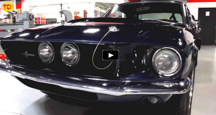 1967 mustang shelby gt500 mcgunegill engine