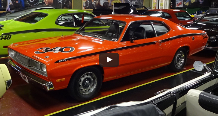 original 1972 plymouth duster 340 wedge