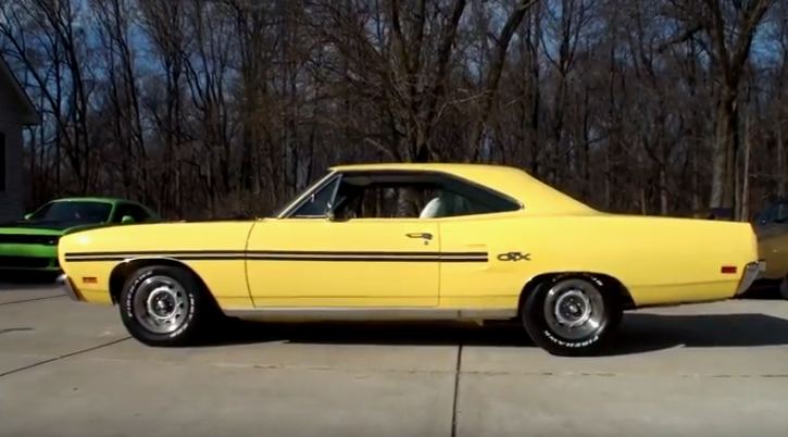 rare 1970 plymouth gtx 440 six pack
