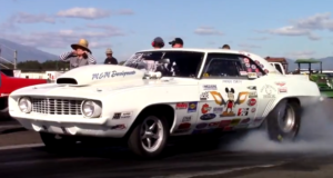 1969 chevrolet camaro drag car for sale