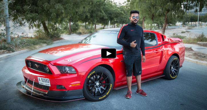 customized 2013 mustang red hulk