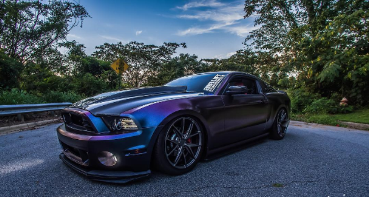 procharged 2013 ford mustang