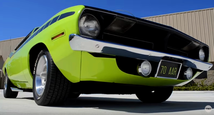 lime light 1970 plymouth aar cuda