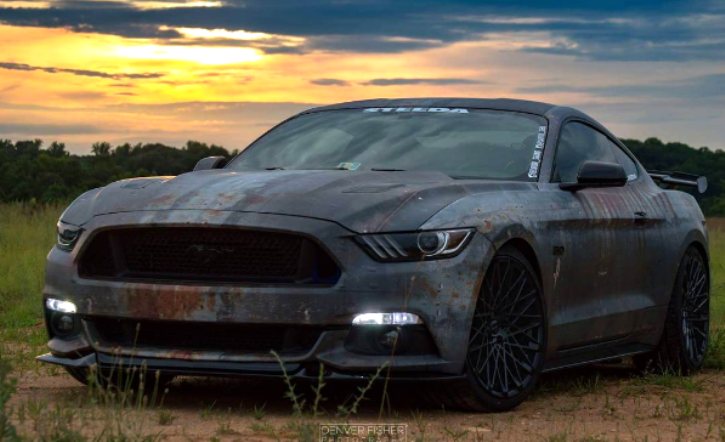 modified s550 mustang doom stang