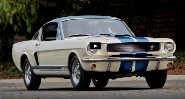 unique 1966 shelby gt350 prototype