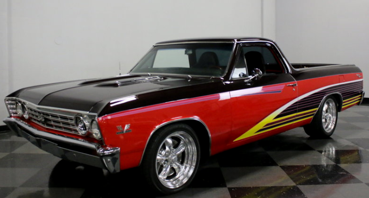 custom built 1967 chevrolet el camino truck