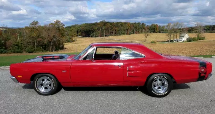 1969 dodge super bee 517 Indy motor