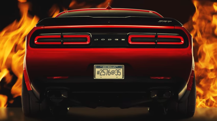 new dodge demon videos information