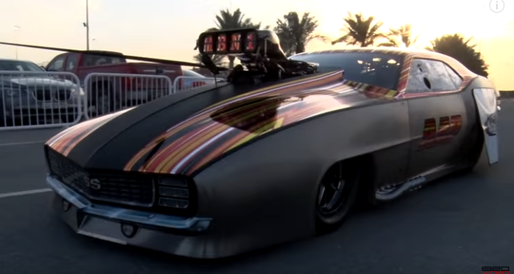 3500hp aap camaro drag racing