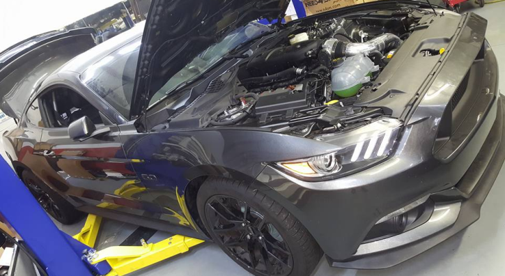 1600hp twin turbo 2016 mustang gt dyno