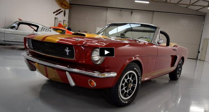 convertible 1966 mustang shelby gt350 hi-po build