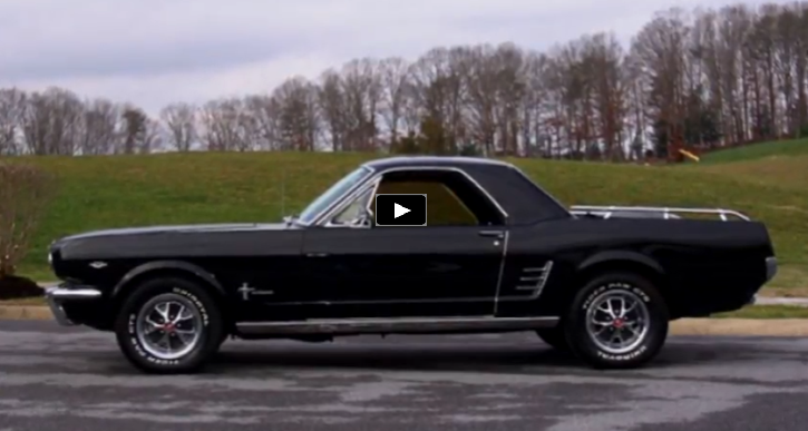 1966 mustang based pick up truck