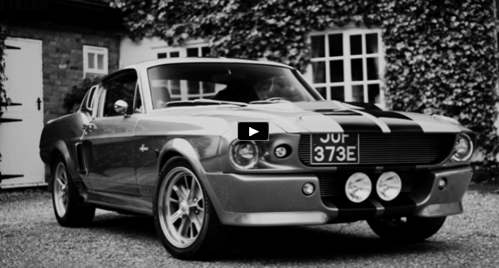 awesome 1967 mustang shelby gt500 eleanor video hot cars. Black Bedroom Furniture Sets. Home Design Ideas