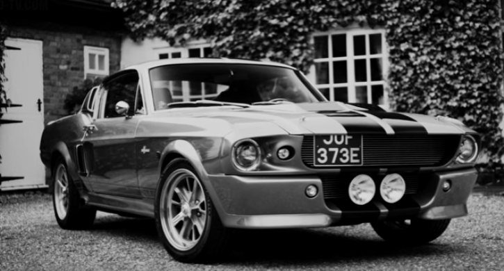 1967 mustang shelby gt500 eleanor vido