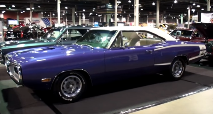 restored 1970 dodge super bee 440 six pack