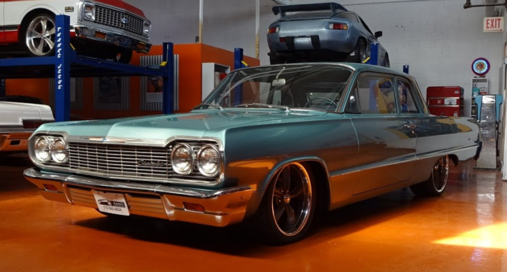 Classic Chevy Mentor >> 1964 Chevy Biscayne Restored By Ex Gang Members | HOT CARS
