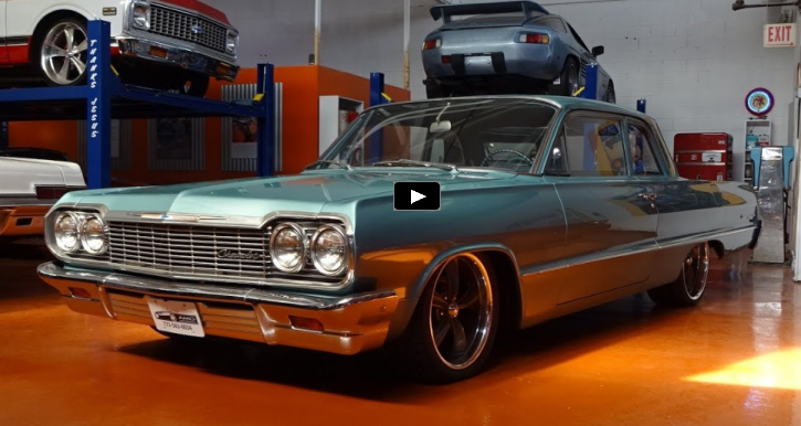 1964 chevy biscayne restored at automotive mentor group
