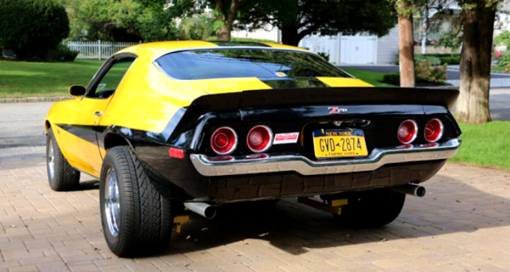 custom built split bumper chevrolet camaro ss