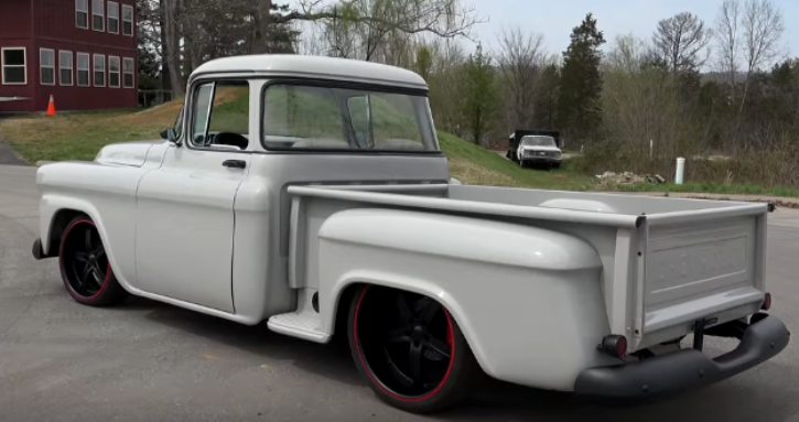 1958 chevy pick up custom job