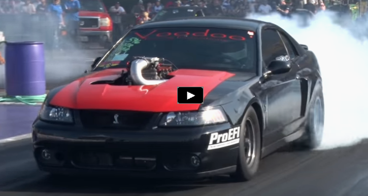 voodoo racing turbo mustang cobra drag racing