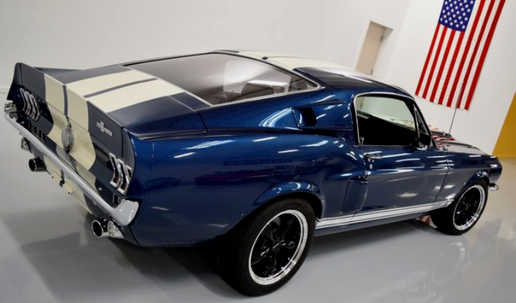a-code 1967 mustang fastback restomod