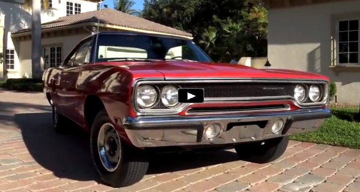 rallye red 1970 plymouth road runner super track pack