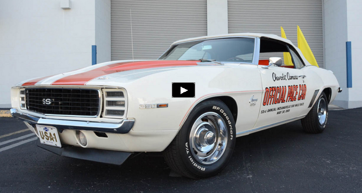 true 1969 chevy camaro pace car 350 4 speed