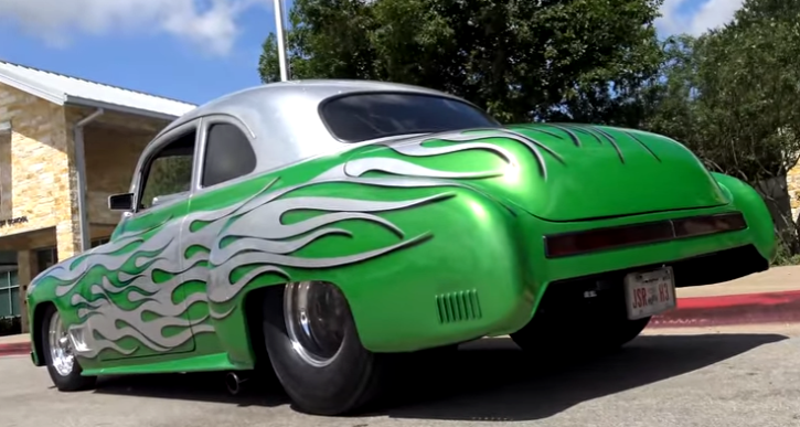 blown 1950 chevy coupe hot rod