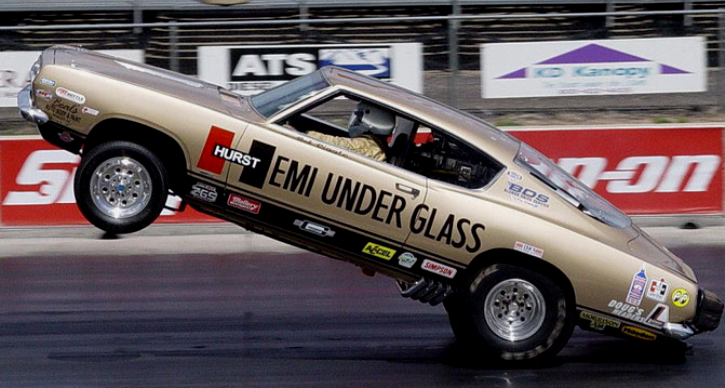 story of hurst hemi under glass and bob riggle