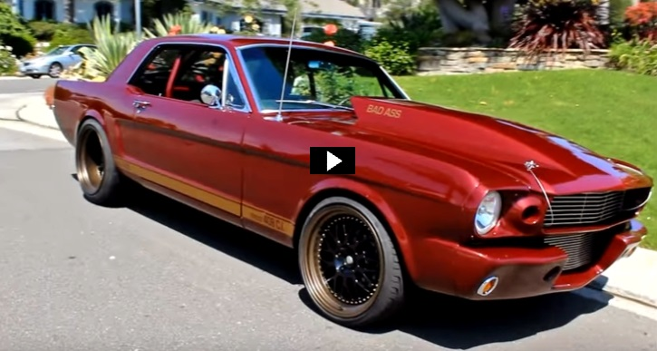 pro touring 1965 mustang 408 stroker