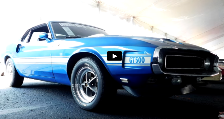 unrestored 1969 shelby gt500 mustang