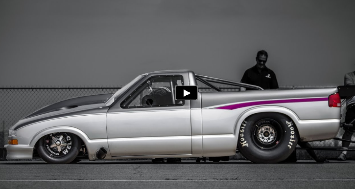 larry larson twin turbo proline racing powered chevy truck