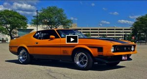 1972 ford mustang mach 1 351