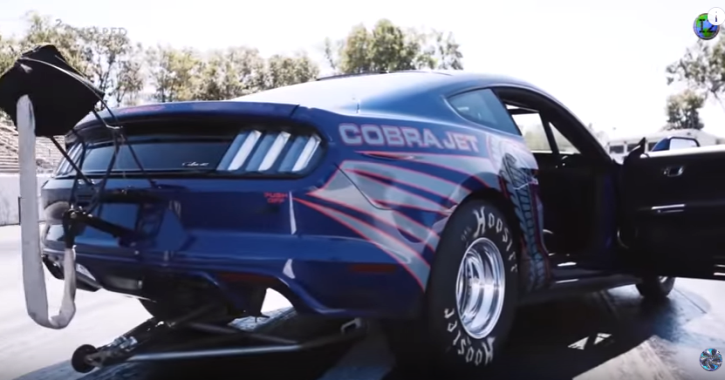 2016 ford mustang cobra jet video