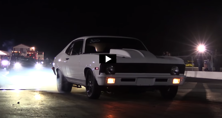 ls7 powered 1970 chevy nova drag racing