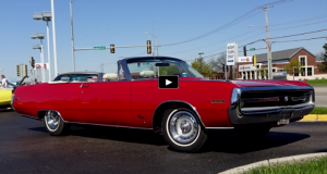 restored convertible 1970 chrysler 300