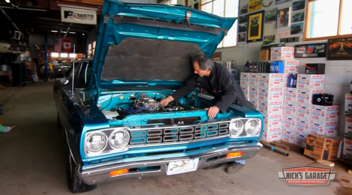 test driving 1968 plymouth road runner sleeper