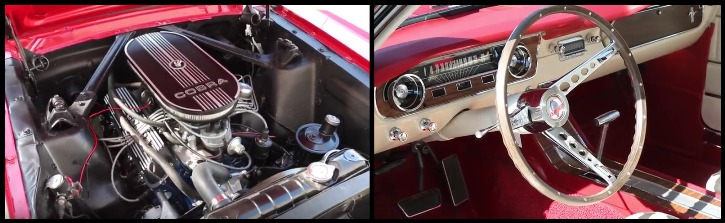 candy apple red 1965 mustang shelby gt350 tribute