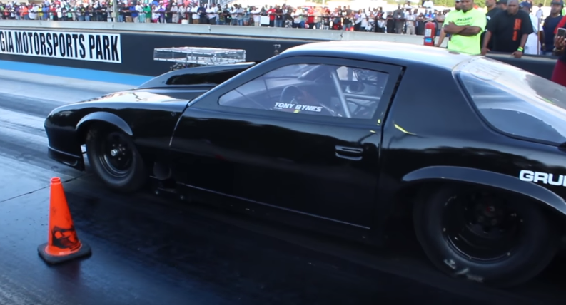 tony boss bynes choppa camaro drag racing