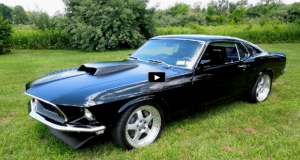 pro touring 1969 mustang paxton supercharged