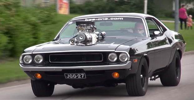 blown 1970 dodge challenger 572 hemi