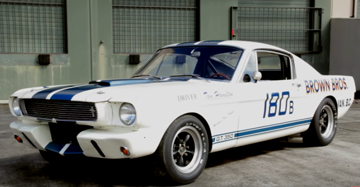 tommy hamilton 1965 shelby gt350r