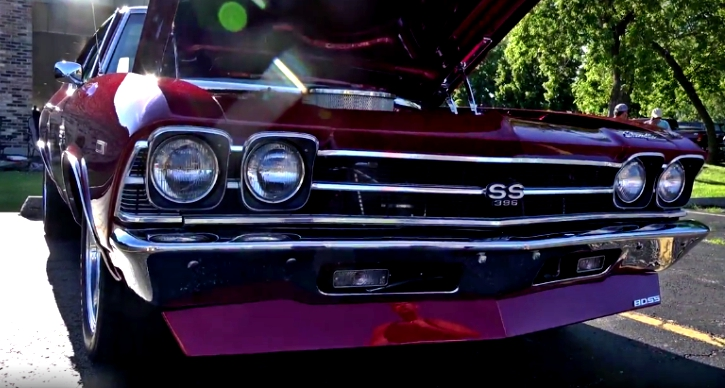 1969 chevy chevelle ss 540 crate motor