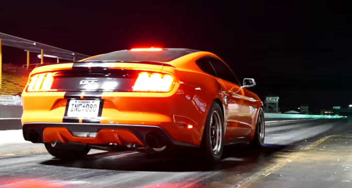 s550 mustang street car 9 seconds