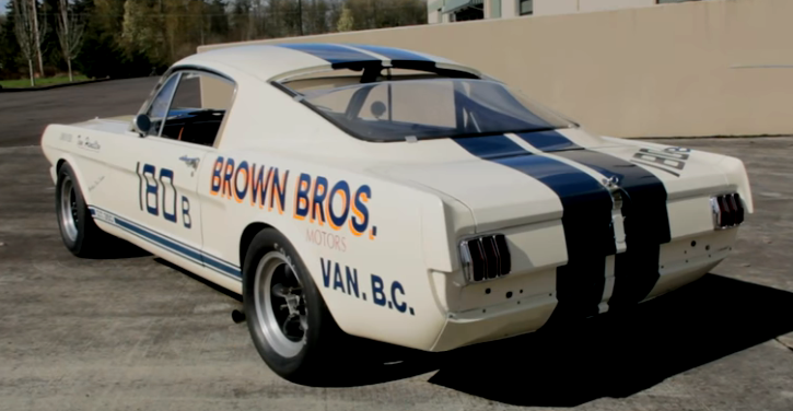 brown brothers 1965 shelby number 180