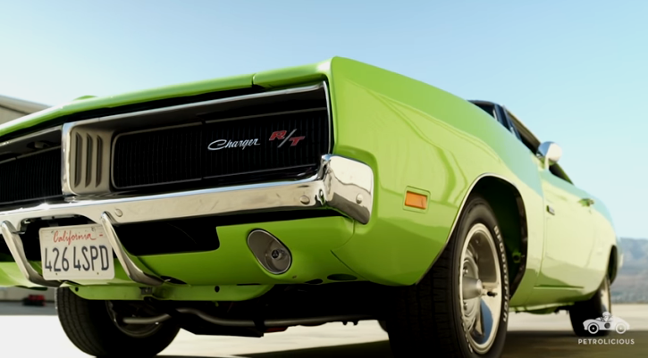 restored 1969 dodge charger hemi 4-speed