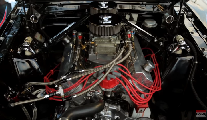 nitrous 1966 mustang coupe pro street