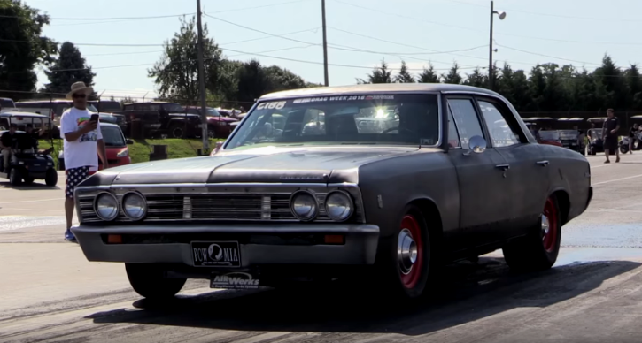 turbo small block 1967 chevrolet malibu drag racing