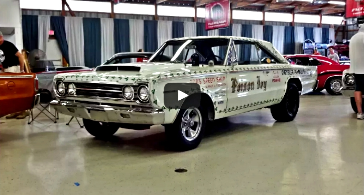 true 1967 plymouth hemi belvedere II super stock race car